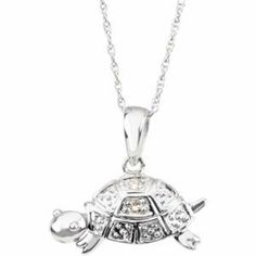 Trudy The Turtle Waggles Pendant W/Chain 14K White Gold 07.75X16.00 mm Trudy The Turtle Waggles Pendant Pendant-Necklaces-MidwestJewellery. $291.89. 100% Satisfaction Guaranteed. 14K White Gold. 07.75X16.00 mm Trudy The Turtle Waggles Pendant. Base Size = 6. Trudy The Turtle Waggles Pendant W/Chain. Save 46% Off!