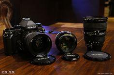 Nikkor AF 28 milímetros f / & Noct-Nikkor 58 milímetros f / AI & Nikon AF f / Nikon Df, F 1, Binoculars, Lens, River, Google Search, Photos, Pictures, Klance