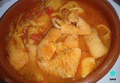 Although it may sound more famous calluses to the Madrilenian , another very popular way to eat tripe in Spain is with the Catalan Le Chef, Thai Red Curry, Cooking Recipes, Asian, Eat, Ethnic Recipes, Food, Popular, Tripe Recipes