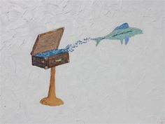 Leap of Fish by Leslie Morgan, $400