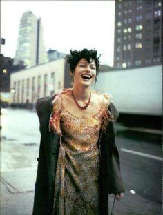 Milla Jovovich by Paolo Roversi. 1997