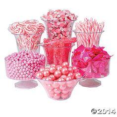 Pink Candy Buffet Assortment - Oriental Trading