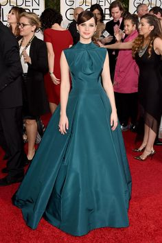 A classic gown was perfect on Felicity Jones.
