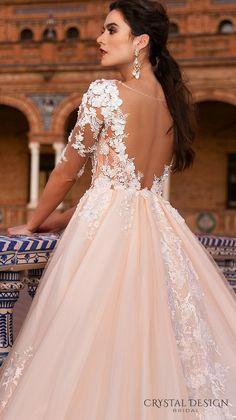 Crystal Design Sevilla Wedding Dresses 2017 / http://www.deerpearlflowers.com/crystal-design-haute-couture-wedding-dresses-2017/8/