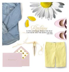 """""""Kindness"""" by pattykake ❤ liked on Polyvore featuring Christian Louboutin, Kate Spade, Lands' End and Liam Fahy"""