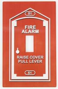 Fire Alarm Switchplate
