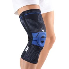 3a2d7c8034 $130.99 Bauerfeind's GenuTrain® P3 Black relieves pain and inflammation  caused by misalignment of the kneecap