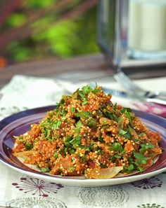 Tomato Quinoa - Quinoa-Rezepte - To eat healthy food Grilling Recipes, Veggie Recipes, Vegetarian Recipes, Healthy Recipes, Healthy Cooking, Healthy Eating, Healthy Grilling, Pan Relleno, Paleo Dinner