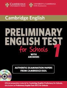 Cambridge Preliminary English Test for Schools « Library User Group