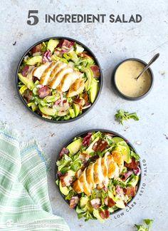 5 Ingredient Keto Salad