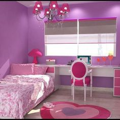 Decoracion dormitorio nena