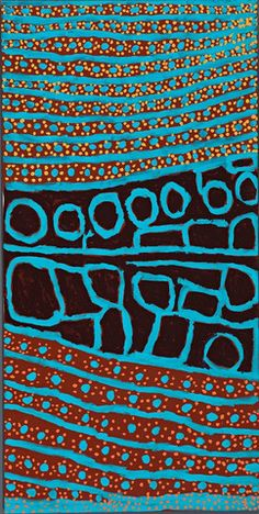 MARGARET BARAGURRA‎ 'Winpa' painting available at Deutscher and Hackett's online sale room AU$1,500