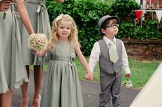 here comes the flower girl | Three Apples Events