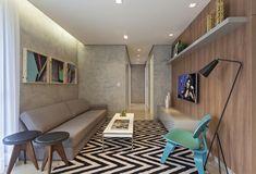 O Efeito Concreto, além de moderno, é versátil, pois se encaixa muito bem em qualquer ambiente, como lavabo, sala de estar ou quarto. Muit...
