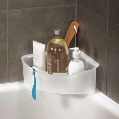 3 pc wall mounted #suction cup bathroom shower set shampoo #corner ...