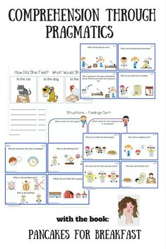This is a resource for teaching and practicing understanding of feelings, motivation, action through awareness of environmental and facial cues by using a wordless picture book.  Wordless picture books are often used in speech therapy for developing narratives and examining visual cues in story lines.What's in here?* There is a page by page list of questions to think about and answer, observations to make, predictions to make relative to the pictures that make up the story.* $