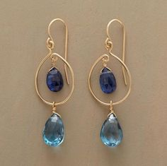 Kyanite and London topaz by Thoi Vo