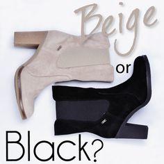 Los Chelsea boots son unos botines que se utilizaban para montar a caballo y después se popularizaron en los años 60´s cuando The Beatles comenzaron a utilizarlos, en la actualidad están presentes en el mercado en diferentes colores y diseños, son unos botines muy cómodos y fáciles de usar, además un must have de esta temporada. ¿De que color los prefieres?