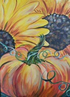 Our Paintings at Painting Parties Art Projects, Projects To Try, Autumn Art, Paint Party, Close Image, Paint Brushes, Cool Art, Fun Art, Art Drawings