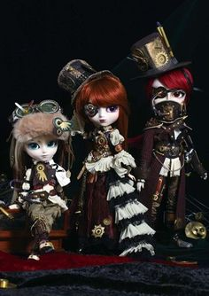 Stimpunk dolls - Google Search