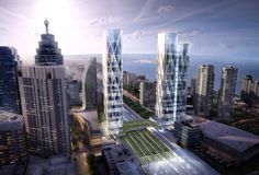 Confirmed: Wilkinson Eyre Designs Large-Scale, Transit-Oriented Development for Toronto