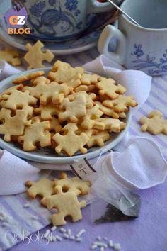 Biscottini puzzle, ricetta light con farina di riso