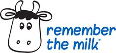 Online to-do list and task management Remember The Milk, Cow Logo, Web 2.0, Free Calendar, Software, Apps, Organization, How To Plan, Daily Journal