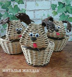 Плетение из газет   ВКонтакте