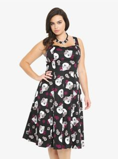 8d30756b613 Roses   Skulls Sweetheart Dress from Torrid....This would be perfect for