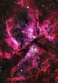 The Carina Nebula in its beautiful entirety.