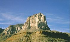 El Capitan - Guadalupe Mountains National Park
