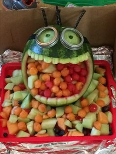 Minion watermelon