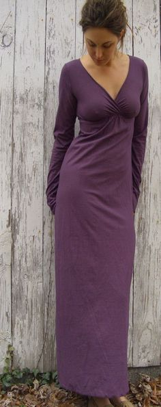 The Long Market Dress hemp/organic cotton knit by gaiaconceptions, $155.00
