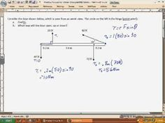 Physics - Mechanics: Torque (4 of 7) The Diving Board - YouTube