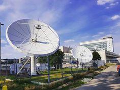 #ceskatelevize #kavcihory #satellite #prague #sky #czechtv #television