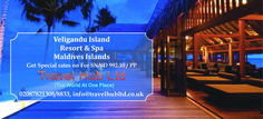 Get Special rates on Veligandu Island Resort & Spa in Maldives Islands & Find Great Deals for Maldives Holiday Packages at Travel Hub.  Call or Visit Online for Booking Assistance: www.travelhubltd.co.uk #veligandu #travel #adventure #bucketlist #paradise #islandlife #maldives #booknow