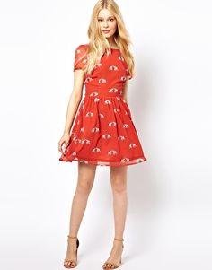 Red Elephant Dress // ASOS