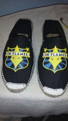 Zapas in flames