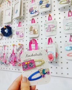 Kids Store, Baby Store, Accessories Display, Hair Accessories, Kids Boutique, Christmas Embroidery, Visual Merchandising, Little Princess, Showroom