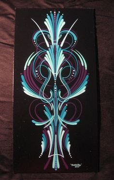 The 12X18 aluminum panels feature one off designs in 1 Shot enamels and the famous scroll style pinstriping! Description from fatdaddylines.com. I searched for this on bing.com/images