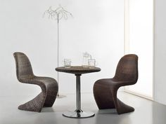 The Rattan Panton Chair..