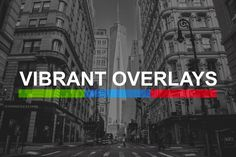 200 Vibrant Overlay Presets by sparklestock