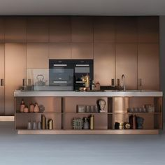Best of Year Product & Material Winners gold kitchen Brass Kitchen, Kitchen Cabinetry, New Kitchen, Kitchen Chairs, Kitchen Dining, Kitchen Decor, Design Apartment, Interior Design Kitchen, Home Renovation