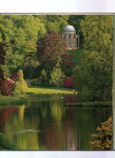 Stourhead - Stourton - Warminster - Wiltshire - England - Stourhead is the best example of a garden inspired by the great landscape painters of the seventeenth century.
