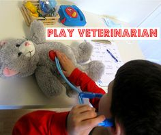 Role play vets with added maths and literacy from @Allison @ No Time For Flash Cards