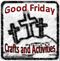 Thanks to Jennifer at Catholic Inspired ~ Good Friday crafts Arts, Crafts, and Activities! Catholic Easter, Catholic Crafts, Catholic Kids, Church Crafts, Sunday Activities, Easter Activities, Church Activities, Preschool Ideas, Easter Garden