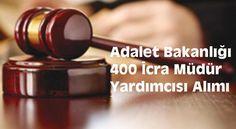 Adalet Bakanlığı tarafından 2019'un ilk sınav ilanını yayınladı. Adalet Bakanlığı 400 İcra Müdür Yardımcısı Alımı İlanı için başvurular başladı. Adalet Bakanlığı 400 icra müdür yardımcısı alacak.