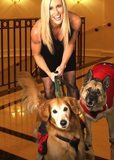 One of my favorite days with my babies, Gabriella & Cleo, for a doggie calendar photo shoot! :)