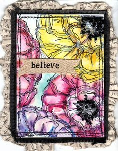 Renee's ATC by Vicky Gould - Cards and Paper Crafts at Splitcoaststampers