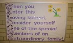 Image result for welcome tag board for school